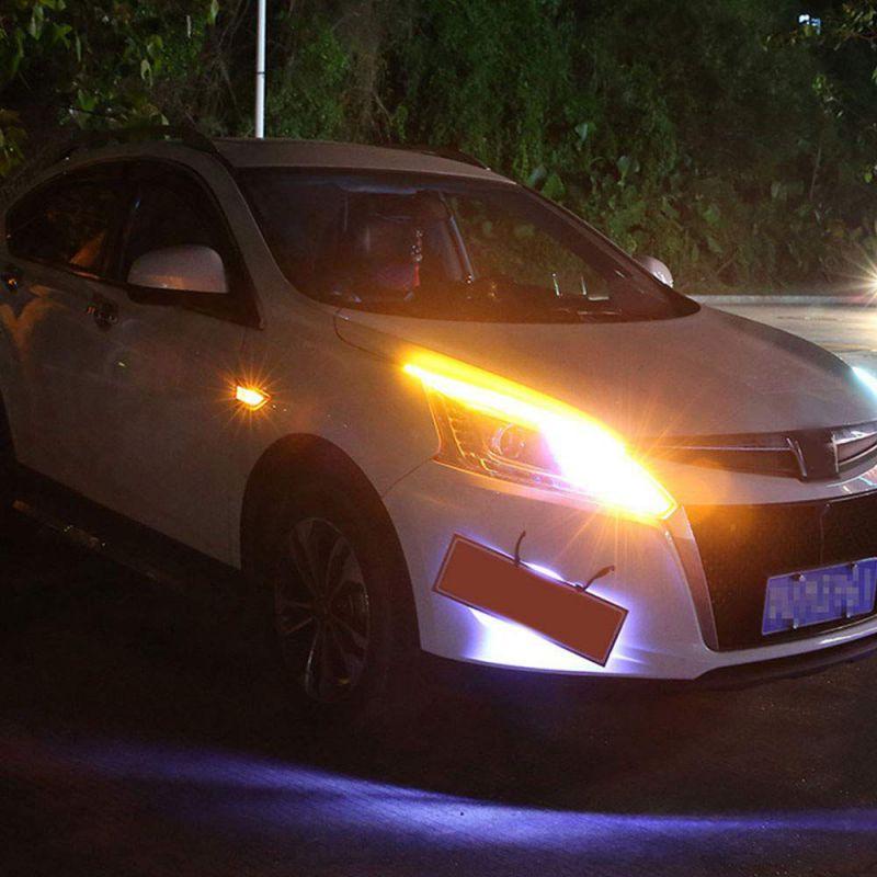 2 uds Universal SUNKIA Auto LED Dagrijverlichting Relais Harnas Dimmer Op/12-18 V 5A Auto DRL controlador Mistlamp controlador #