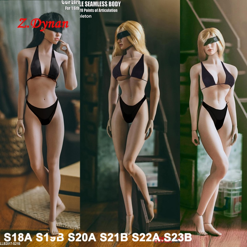 En Stock TBLeague S18A 19B 20A 21B 22A 23B 1/6 Flexible sans couture femme corps Figure sparte capitaine chasseuse Arhian Collections