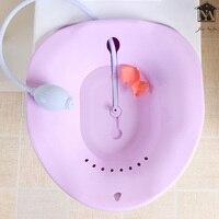 Bidet Squatting Bath Basin Gynecological Maternal Child Bidet Plastic Portable Pregnant Squat Toilet Anti-skid Mom Bidet Tool