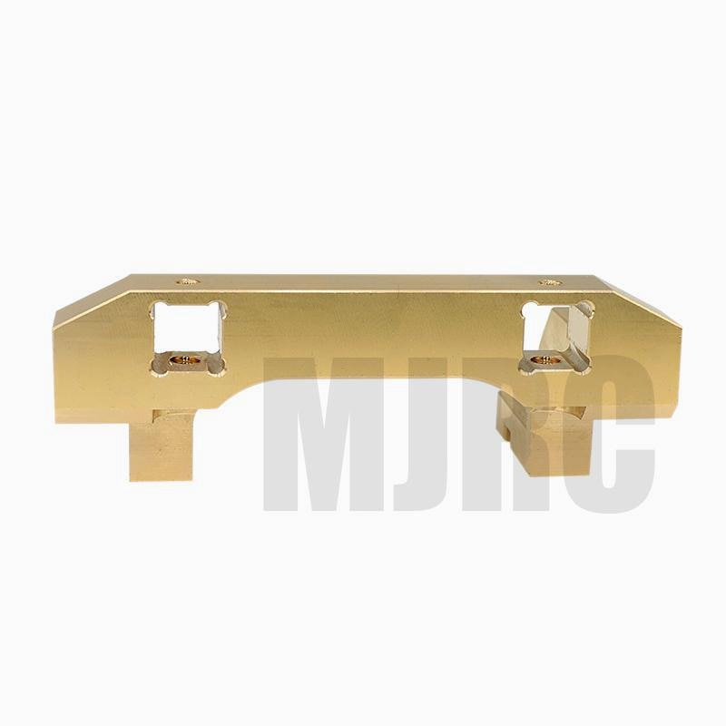 Copper front bumper mounting attachment forward servo mounting bracket for 1/10 RC Traxxas TRX-4 servo repositioning Counterweig enlarge