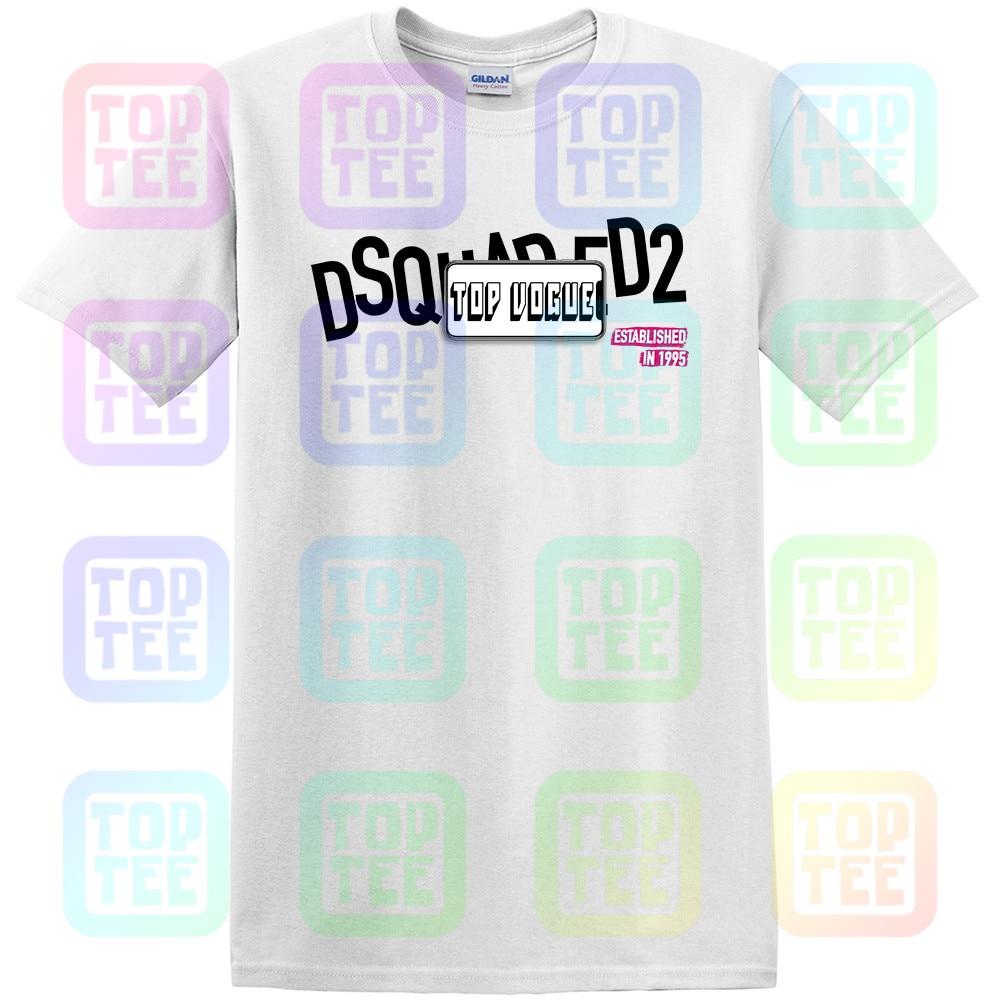 Nuevo Dsq2 Camiseta de manga corta para hombre jersey de cuello redondo nuevo blanco 62C impreso camiseta Unisex tamaño S-3Xl