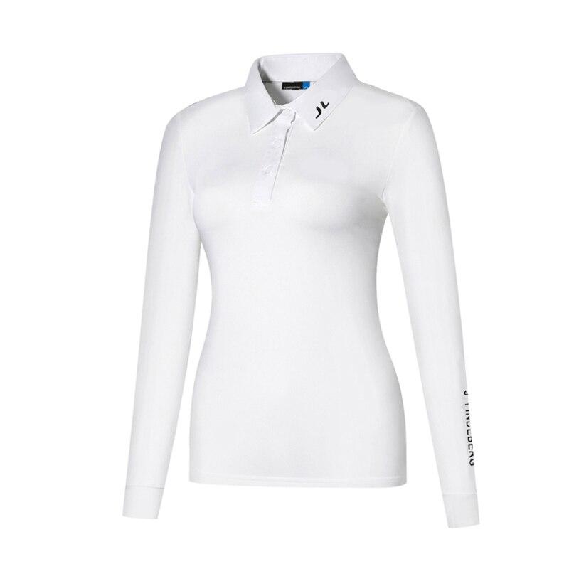 Весна 2021, женская одежда для гольфа, поло с длинными рукавами, быстросохнущая и дышащая одежда для спорта на открытом воздухе