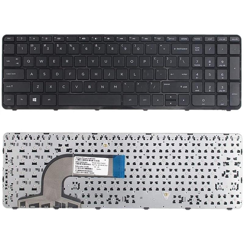 Notebook portátil substituição teclado para dell inspiron 15 3000 3541 3542 5000 5542 5547 e 17 5000 série eua layout
