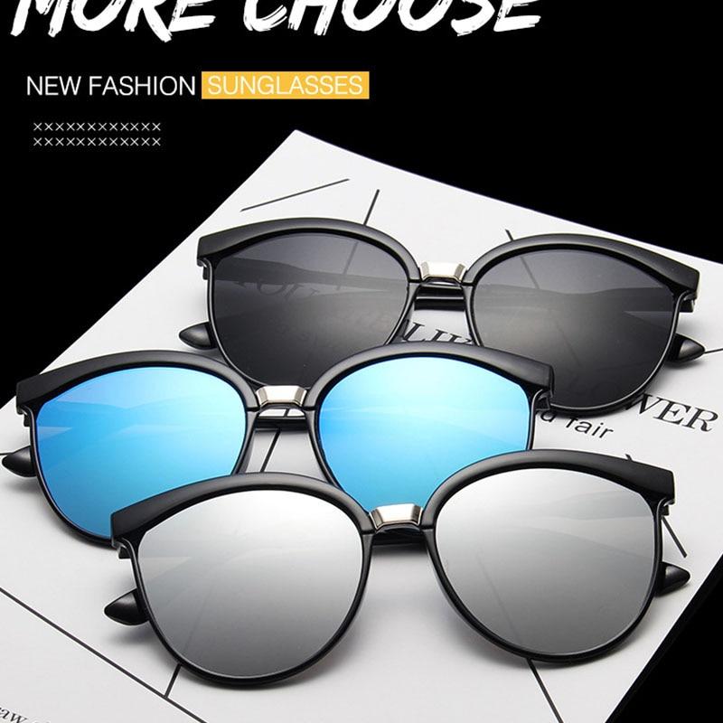 Round Oversized Sunglasses Women 2021 Designer Sun Glasses Fashion Coating Lens Glasses Lunettes Ocu