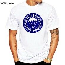 2019 Mannen Cool T-shirt ..  T-shirt .. Ons Paratroops 82 101 Airborne M1 1944 Du S Au Xxl Zomer T-shirt