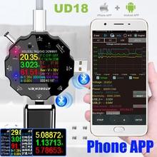 HD Farbe TFT Typ-C USB 3,0 tester dc digitale auto voltmeter amperemeter voltimetro power bank spannung detektor elektrische volt meter