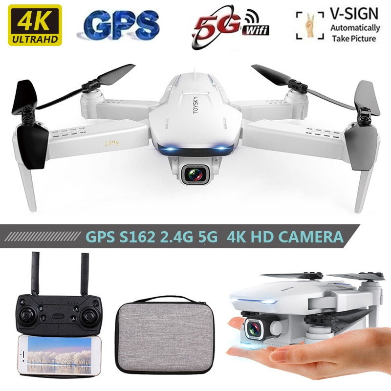 2021 New HD drone 4K profesional 5G wifi GPS positioning airplane long battery life Dual camera RC Helicopters toys for boys