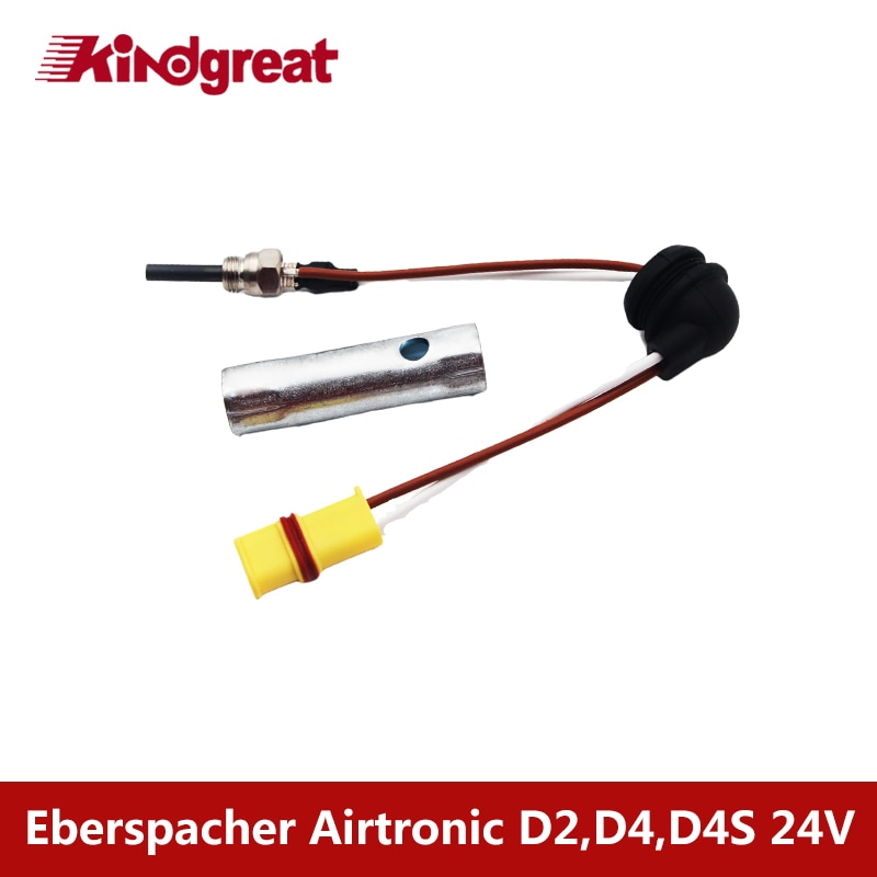 12v silicon nitride ceramic parking heater glow plug for eberspacher airtronic d2 d4wsc d5wsc heater glow plug 252106011000 Kindgreat 24V Airtronic D2 D4 D4S Glow Plug 252070011100 Truck RV Camping Yacht Diesel Parking Heater Glow Plug Fit Eberspacher