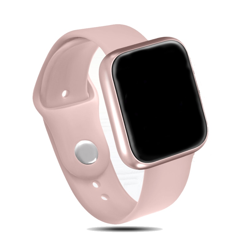 Reloj inteligente P70 P68 de mujer, deportivo con control del ritmo cardíaco, resistente al agua Bluetooth 4,0 para IPhone Apple, xiaomi y LG