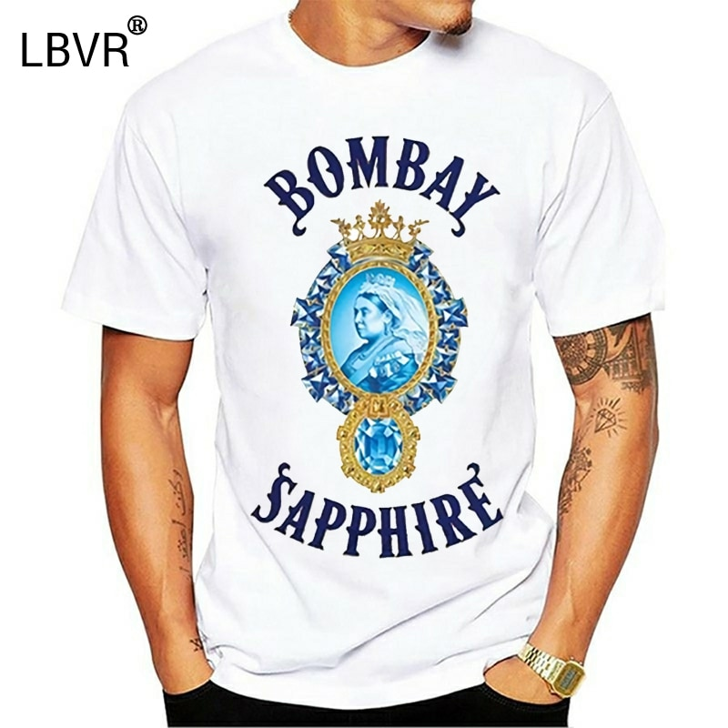 Bombay Sapphire Gin Graphic Liquor T Shirt