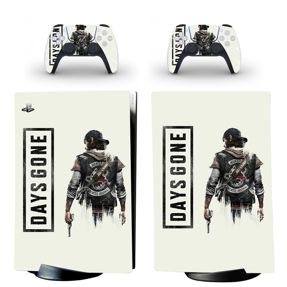 ملصقات لاصقة إصدار الجلد الرقمي لأجهزة PlayStation 5 ، فينيل لوحدة التحكم وأجهزة التحكم PS5
