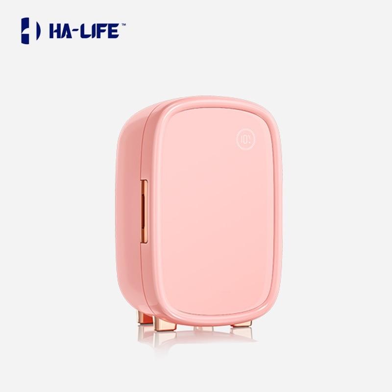 HA-Life Mini Makeup Fridge Portable100-240V Professional Beauty Skin Care Cosmetics Small Intelligent Preservation 12L
