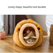 Pet Dog Bed House lion Leopard Cow Cartoon Pet Beds Tent Cat Kennel Indoor Portable Removable Washable Warm pet house Puppy Mat