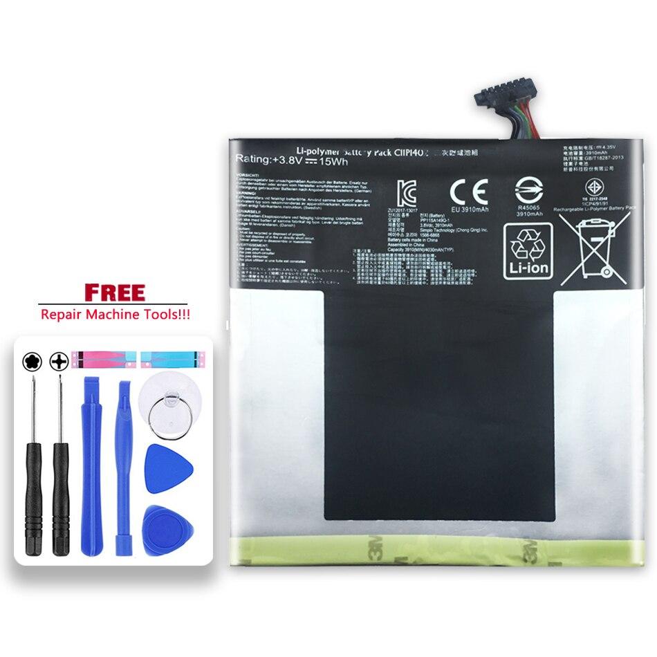 3910mAh reemplazo Tablet batería C11P1402 para ASUS para Fonepad 7 ME375C FE375 FE375CXG K019