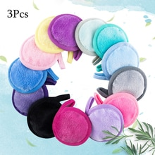 Makeup Remover Puff Fine Fiber Lazy Face Cleansing and Makeup Remover Pad Beauty Absorbent Cleansing