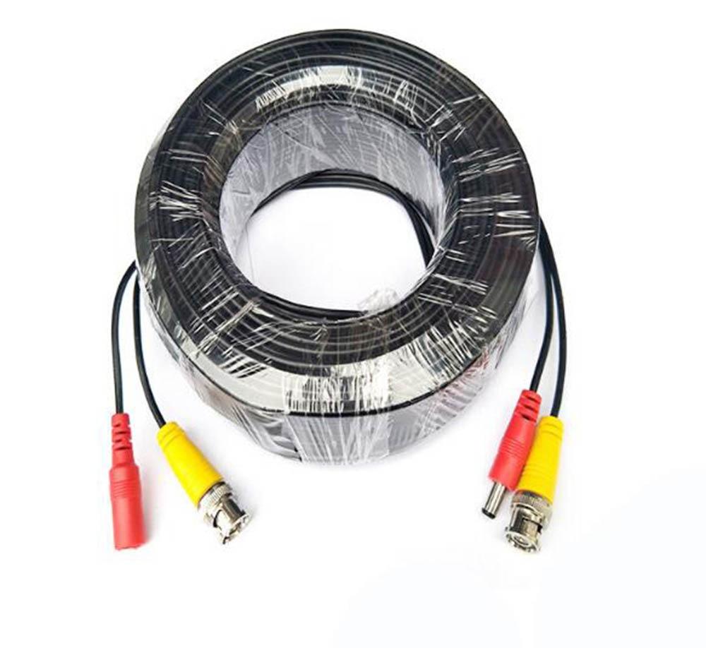 10m-60M CCTV DVR Camera Recorder System Video Cable DC Power Security Surveillance BNC Cable CCTV Parts