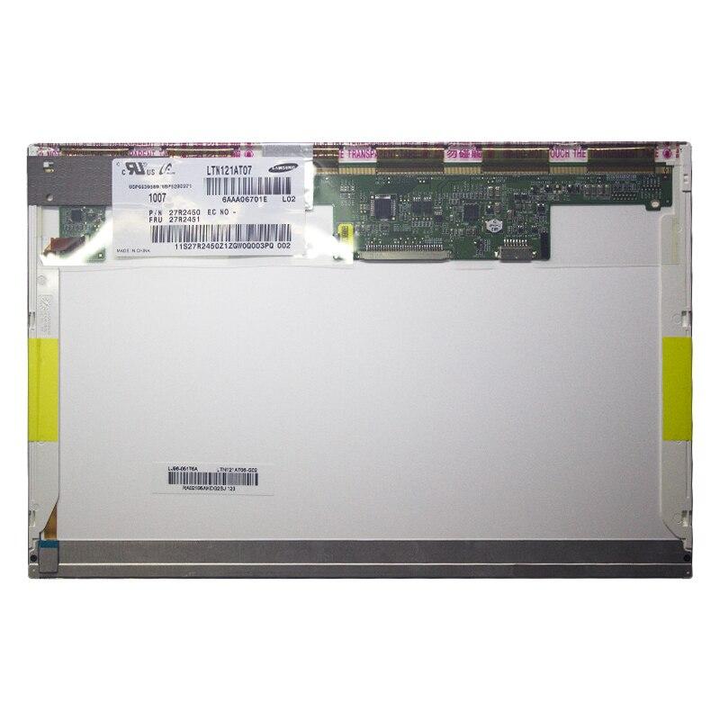 LVDS 30pin Lcd شاشة عرض مصفوفة LTN121AT07 صالح B121EW09 V.3 LP121WX3-TLC1 لينوفو X200 X201 X201i