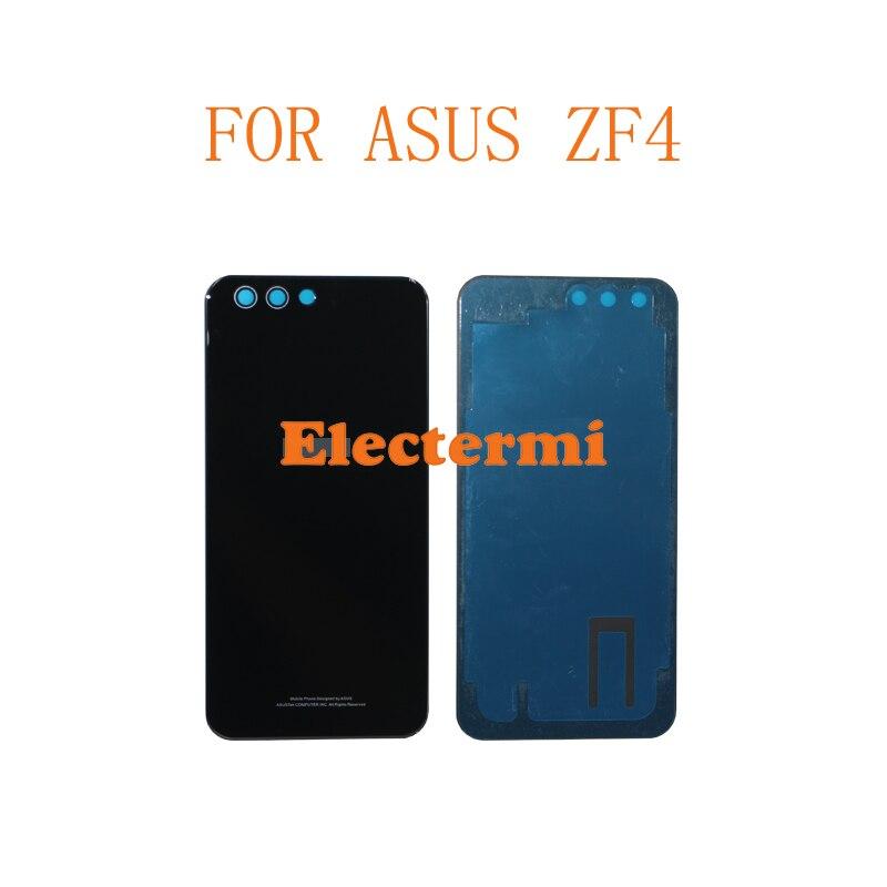 10 قطعة شحن مجاني ZF4 ZE554KL البطارية غطاء الباب الحقيقي حالة الإسكان ل Asus Zenfone 4 ماكس برو ZF4 ZE554KL