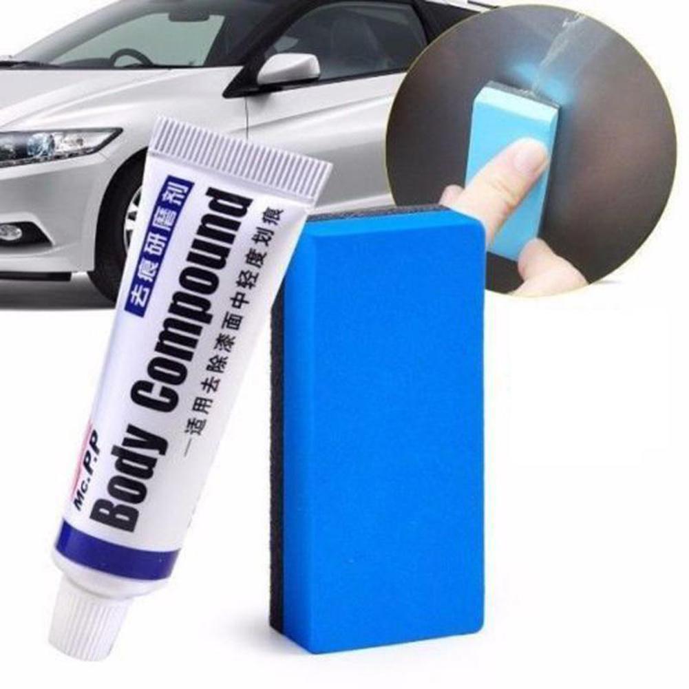 15ml Scratch Repair Removal Eraser Decontamination Polish Car Wax with Sponge автомобильные товары