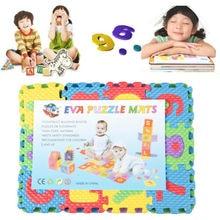 Tapis de jeu en mousse pour enfants   Tapis de sol en mousse, tapis de jeu doux, tapis rampant, décor cadeaux de fête