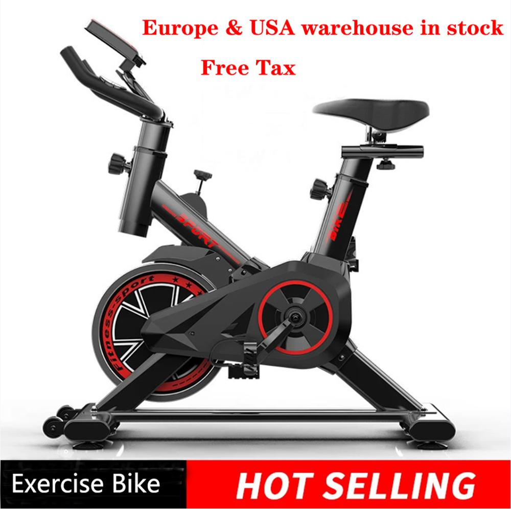 Indoor Exercise Bike Weight Loss Folding Spinning Fitness Equipment Recumbent Cycling Home Gym machine for  training