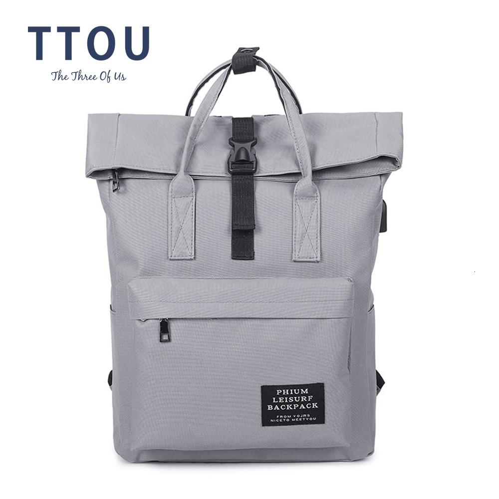 TTOU Fashion Backpack Women Leisure Back Pack Korean Ladies Knapsack Casual Travel Bags School Girls Classic Bagpack Laptop bag