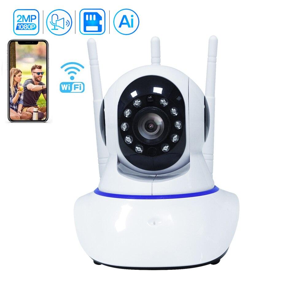 Inesun-كاميرا مراقبة داخلية لاسلكية 2 ميجابكسل ، جهاز أمان منزلي ذكي ، 1080 بكسل ، WiFi ، IP ، مع صوت ثنائي الاتجاه ، تتبع تلقائي AI