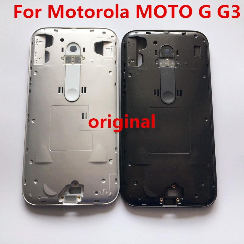 Original Middle Front Faceplate Middle Bezel Frame Housing For Motorola MOTO G G3 XT1540 /1541/1543  With Tools