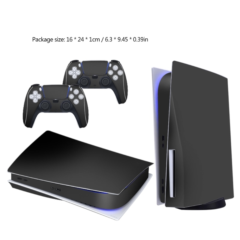 PS5 Disc Edition Skin Sticker Protective Decal for Playstation5 Game Console & 2 Controllers Gamepad Accessories enlarge