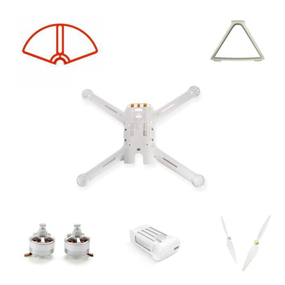 Mi Drone 4k Version Spare Parts Baldes Frame Set Landing Motor Body Shell Battery Propeller Guard Wifi Receiver