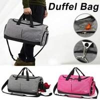 2020 new men women gym bags for fitness training outdoor travel sport bag multifunction dry wet separation bags sac de sport