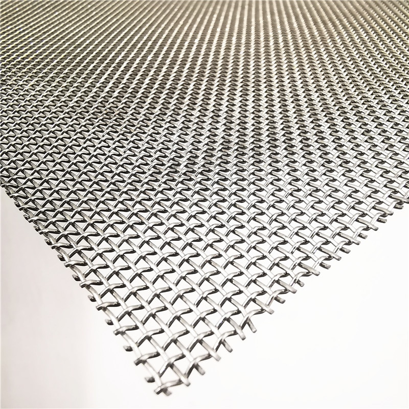 High Temperature Stainless Steel Wire Mesh Non-toxic Filtration 304 Stainless Steel Woven Wire Cloth
