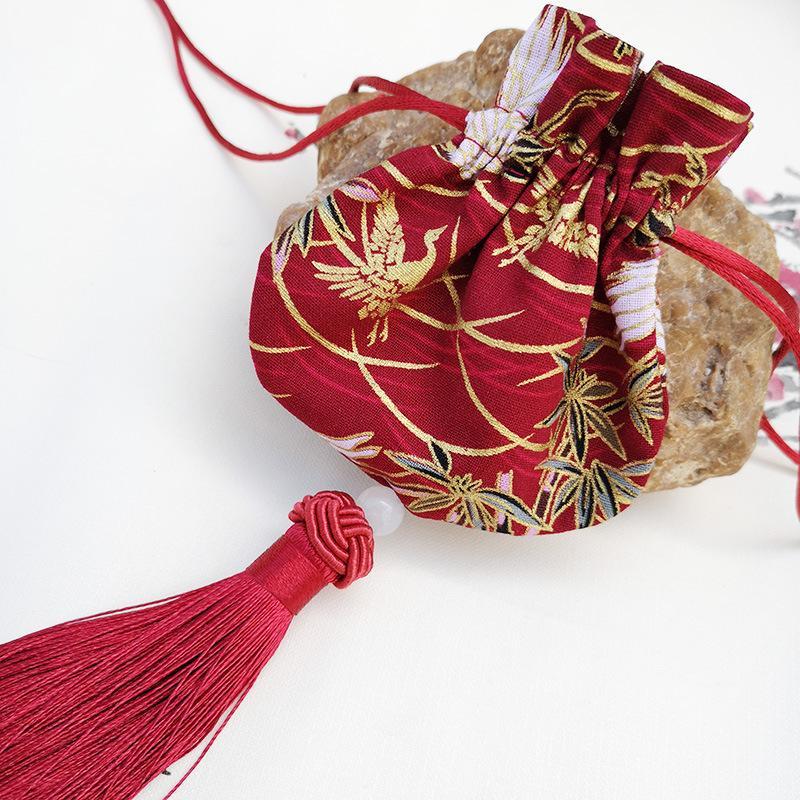 China Omamori Maneki Neko fortuna gato colgar llaveros llavero bonita campana de piel encanto bolsa colgante bonito presente