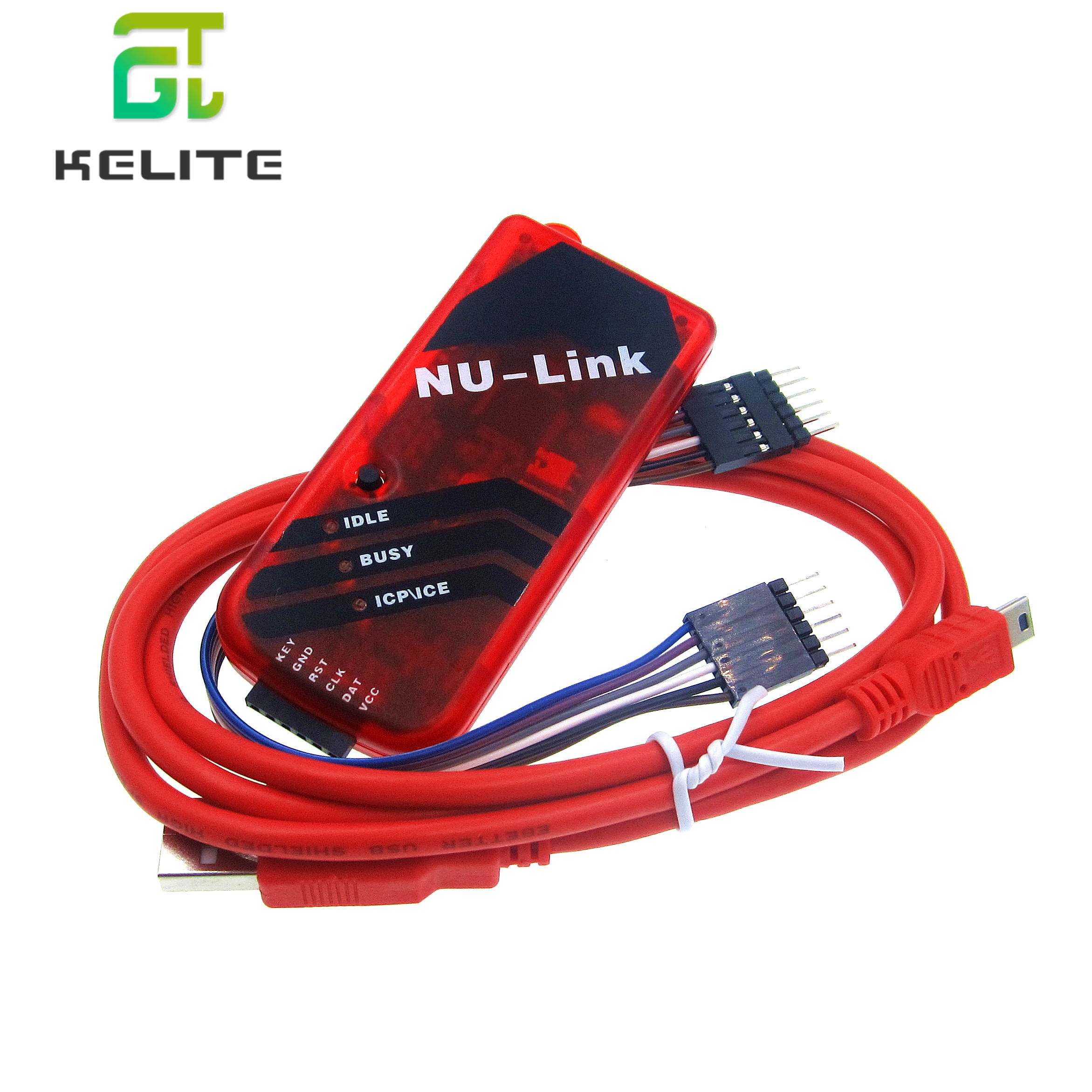 Programador numicroro ICP enlace Nuvoton ICP compatible con programa de descarga de emulador en línea/programación fuera de línea chips serie M0/M4