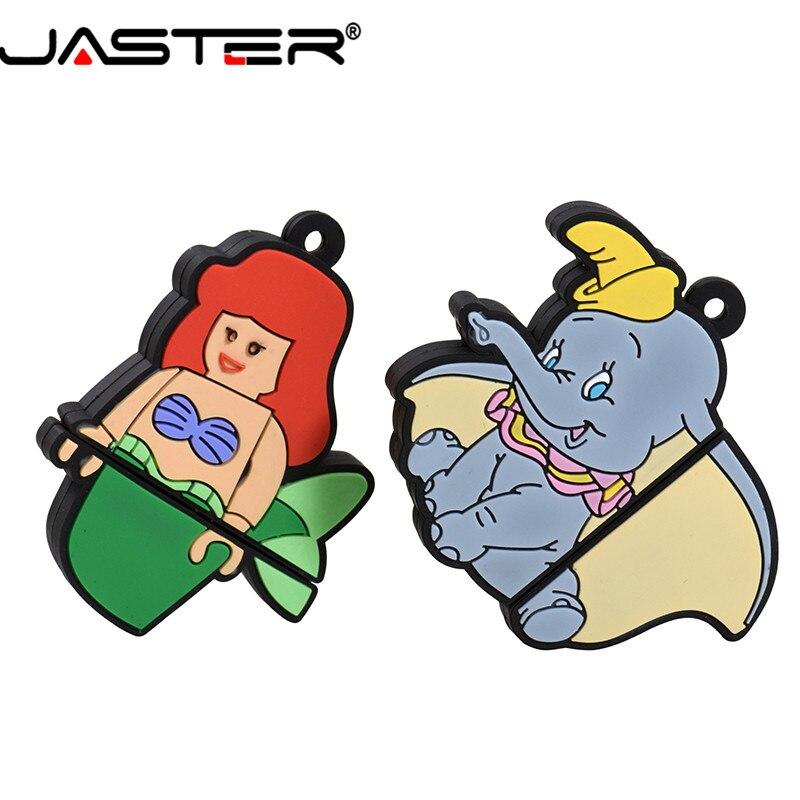 USB флеш-накопитель JASTER, USB 2,0, 4 ГБ, 8 ГБ, 16 ГБ, 32 ГБ, 64 ГБ, 128 ГБ