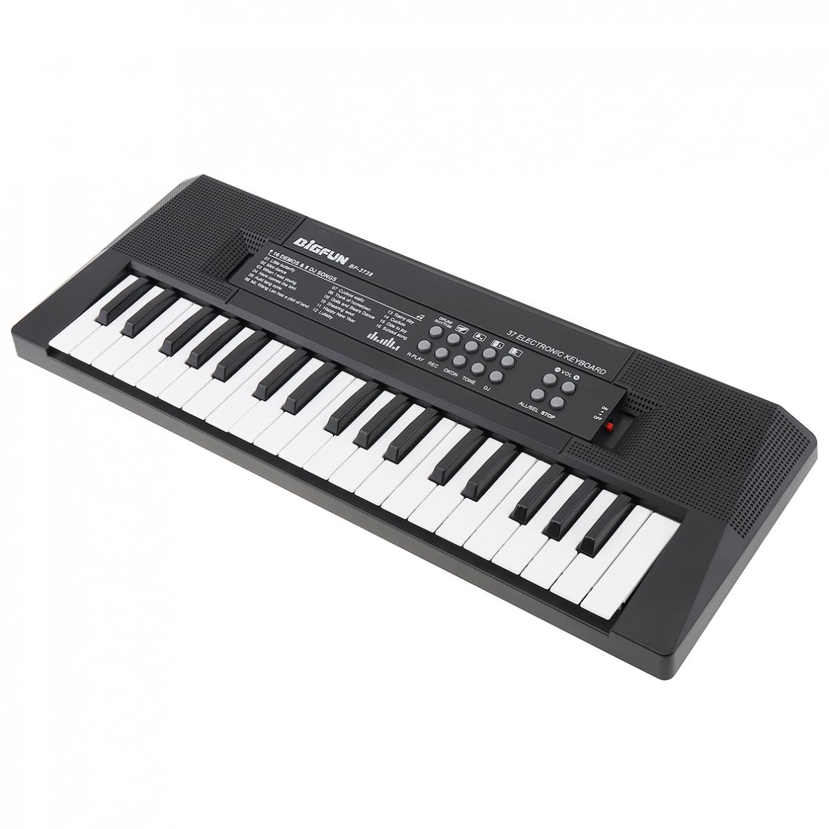 37 49 61 Key Soft Portable Electronic Piano Keyboard  Digital Music Key Board with Microphone Children Musical Enlightenment enlarge