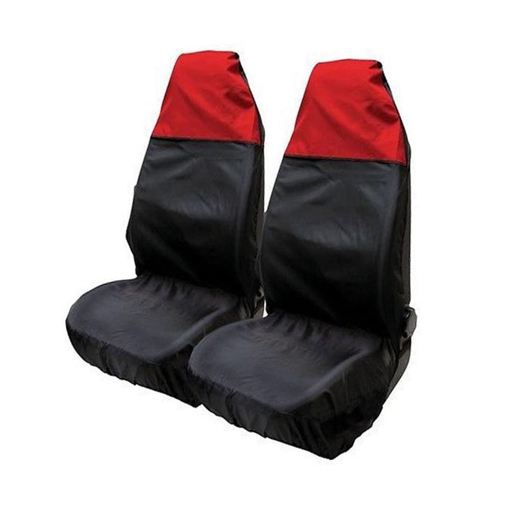 2 шт. водонепроницаемые передние Автомобильные чехлы для сидений автомобиля защитные Нескользящие чехлы для сидений для машины автобусы SUV RV аксессуары для интерьера