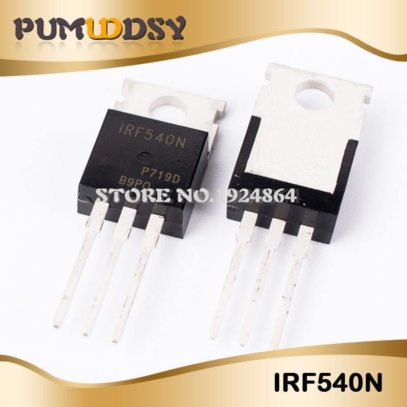20pcs IRF540N TO-220 IRF540NPBF TO220 IRF540 nuevo y original IC