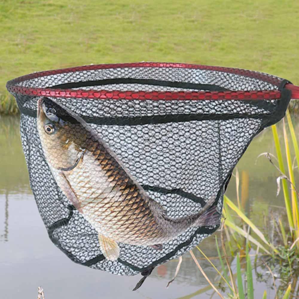 Floating Fishing Net Rubber Coated Landing Net for Steelhead  Salmon Fly Kayak Catfish Bass Trout Fishing Easy Catch Release Net enlarge