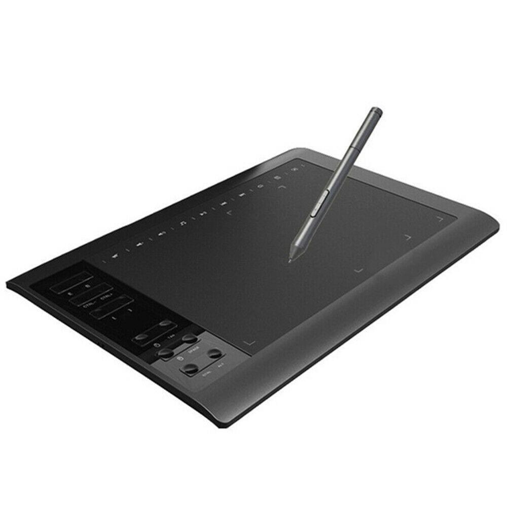لوحة رسم بقلم رقمي ، قرص رسومي 24 × 36 سم ، قراءة سريعة ، مستشعر ضغط ، متوافق مع Windows Android ، للرسم