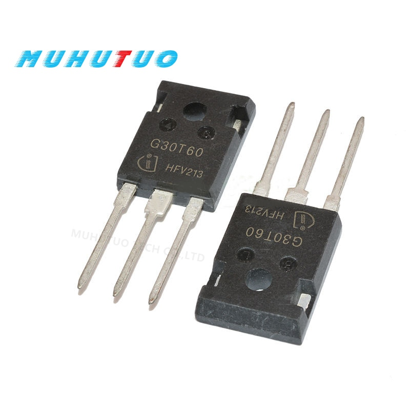 10 pces g30t60 k30t60 30a600v igbt tubo para inversor de ar condicionado