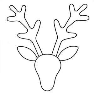 Nordic Minimalist Iron Hollow Deer Head Ornaments Modern Home Wall Hanging Decoration Elk Background Decor Crafts Gifts