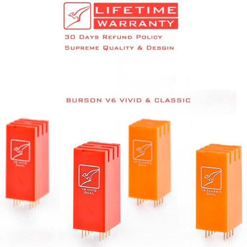 Burson V6 vivo clásico HiEnd puro discreto simple y doble Amp Op IC Chip
