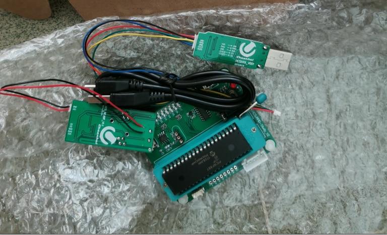 מתגלגל קוד פענוח, שריפת מכשיר, KEELOQ, HCS301 פיתוח לוח, סטנדרטי מצב C תכנית