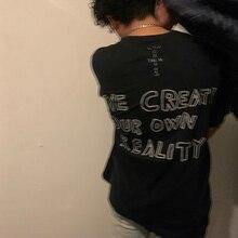 20ss Astroworld Travis Scott T-shirt Jack garçons noir vendredi fissuré verre Astroworld haut T-shirt hommes femmes amoureux Astroworld T-shirt