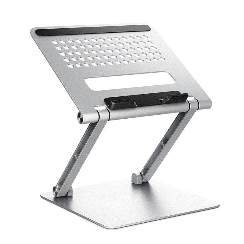 Suporte do Portátil com Função de Refrigeração Suporte de Alumínio Compatível com Todos os Notebooks Laptops de 11-17.3 Ajustável Polegadas –