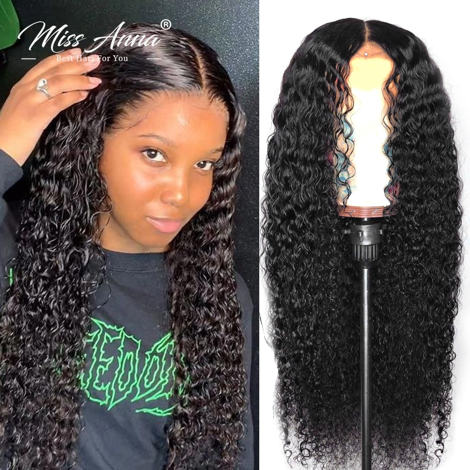 13x6 Water Wave Lace Front Human Hair Wigs 30 32 Inch Brazilian Curly Lace Frontal Wig 250% 4x4 5x5 Lace Closure Wig Preplucked