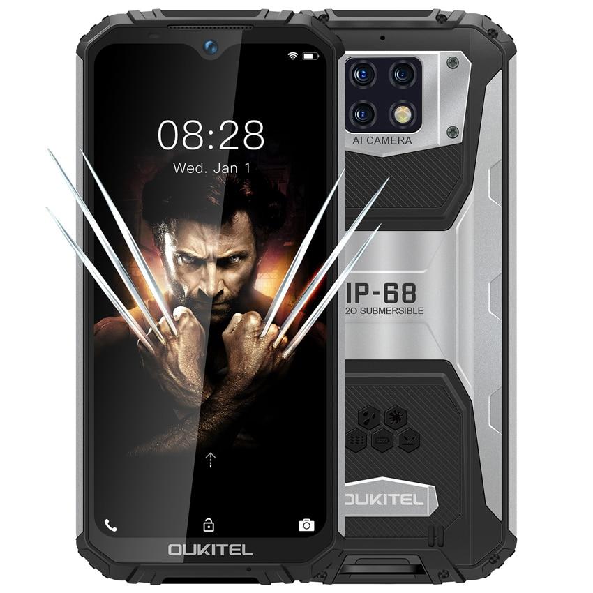 Перейти на Алиэкспресс и купить OUKITEL WP6 10000mAh 6 ГБ Оперативная память 128 Гб Встроенная память 6,3 дюймпротивоударный мобильный телефон MT6771T Octa Core 4G Прочный смартфон 48MP тройной Каме...