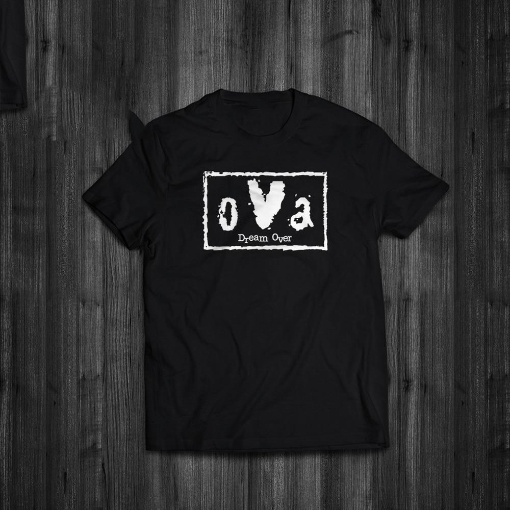 Tops camiseta Dream Over oVa nWo estilo parodia Lucha Libre inspirado Streetwear camiseta