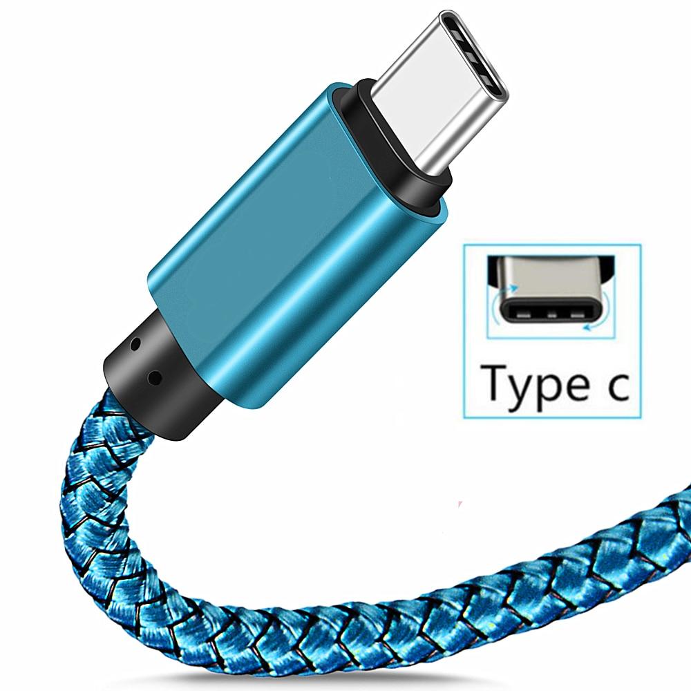 2M Durable Cable de carga USB-C Cable cargador para Samsung Galaxy S20...